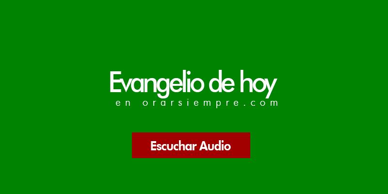 Evangelio 22 de julio